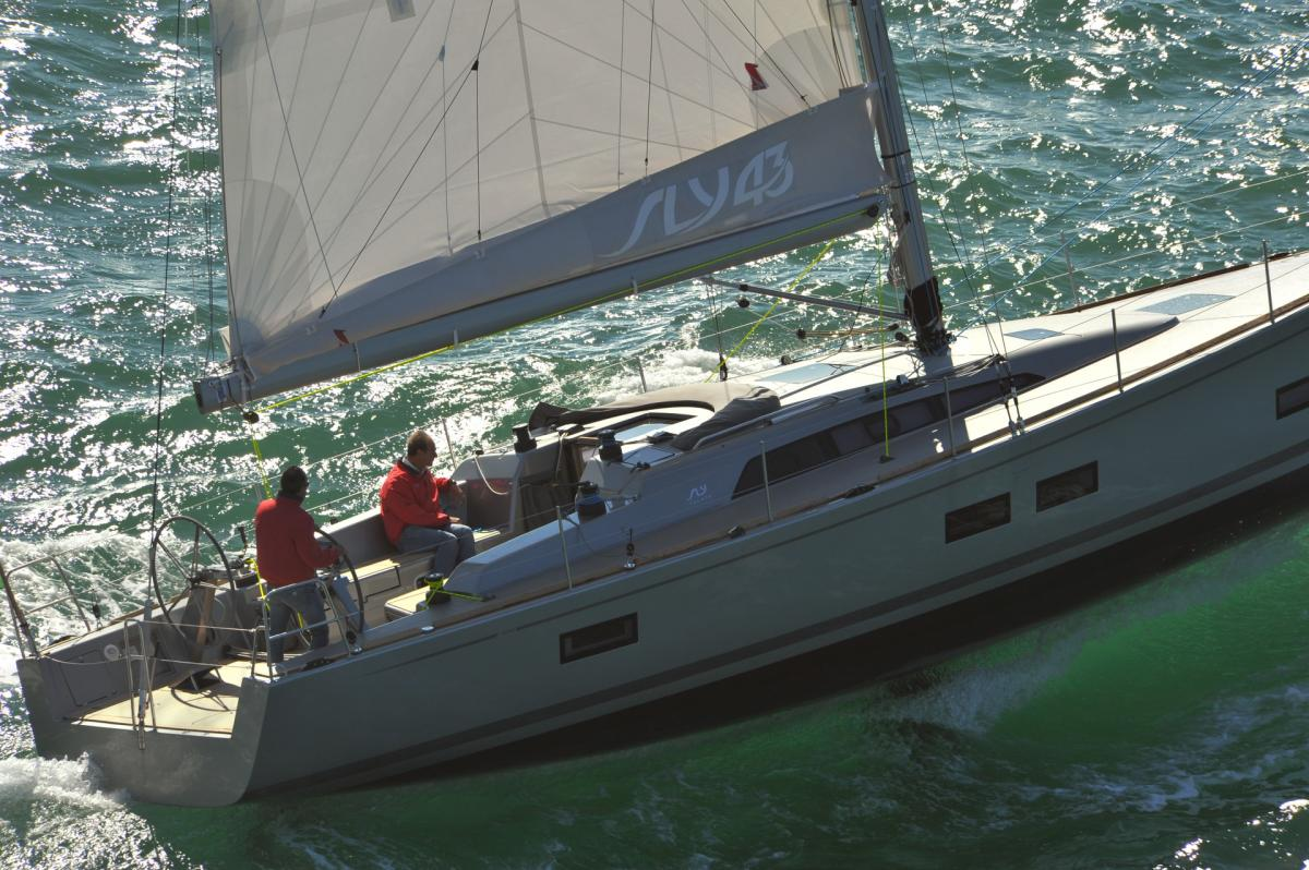 SLY Yachts 43