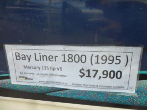 1995 Bayliner 1800 Bow Rider