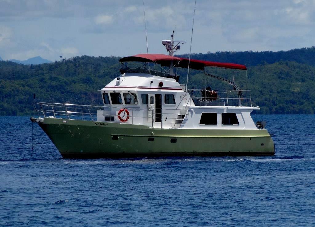 2007 seahorse marine 52 luxury expedition trawler