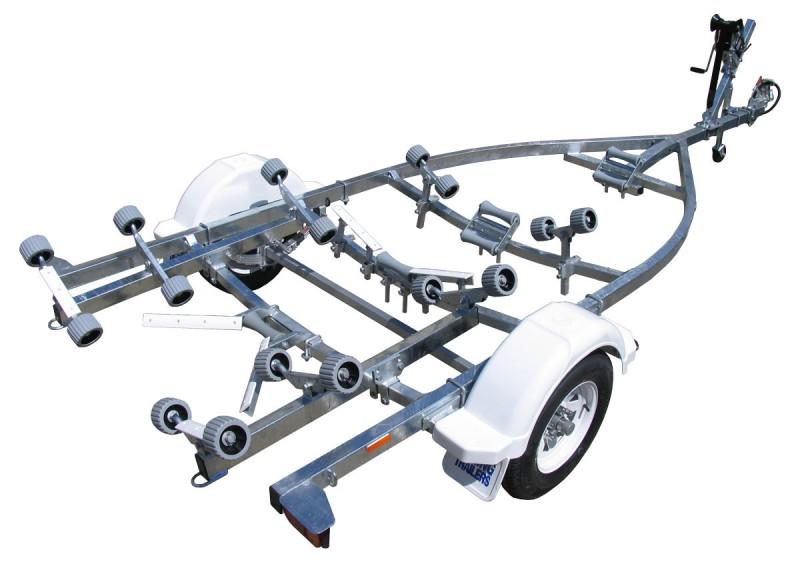 16 Single Axle Trailer : Single axle roller non braked boat trailers boeing