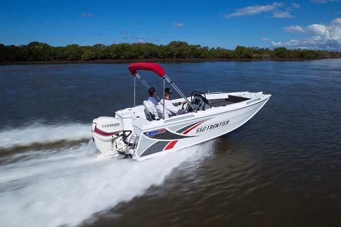 Quintrex 550 Frontier Side Console Jv Marine Melbourne