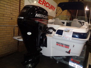 550 Cuddy, 115hp and Trailer