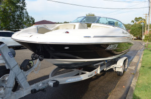 Searay 220 Sundeck
