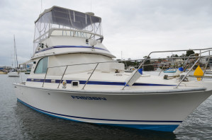 Bertram 35 Flybridge Cruiser