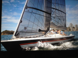 11m One Design Racing Yacht