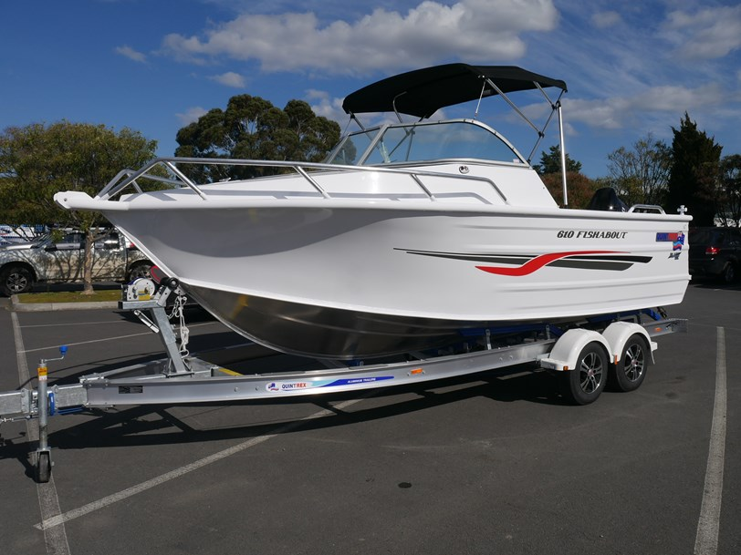 QUINTREX  610 FISHABOUT - RUNABOUT (with a 4-Stroke Outboard)