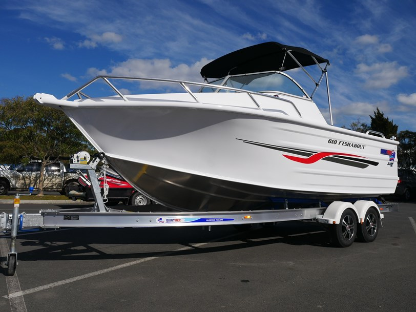 Quintrex 610 Fishabout Runabout With A 4 Stroke