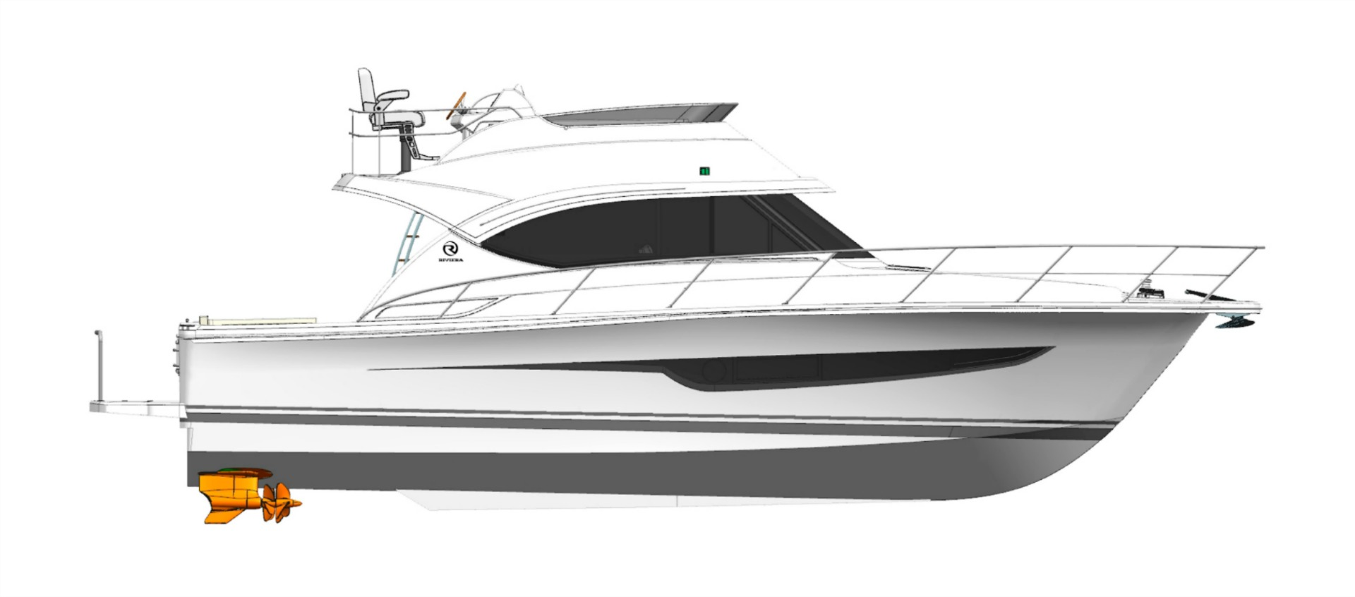 Riviera 39 Open Flybridge