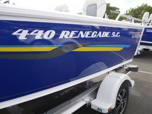 QUINTREX 440 RENEGADE - SIDE CONSOLE