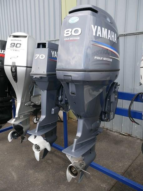 Yamaha 80hp 4-stroke Outboard - JV Marine, Melbourne