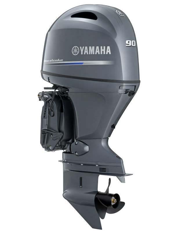 F90LB Yamaha 4 Stroke 90hp Long Shaft EFI OUTBOARD FOR SALE