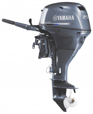 F25LMHC Yamaha 4 Stroke 25hp Long Shaft OUTBOARD FOR SALE