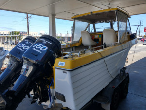 6.2m Orca Bluewater Offshore - 2x150HP Mercury Optimax Engines