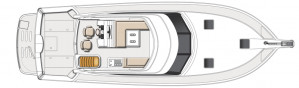 NEW RIVIERA 45 OPEN FLYBRIDGE