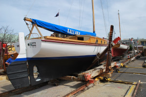 1936 Blunt Timber Sailing Yacht