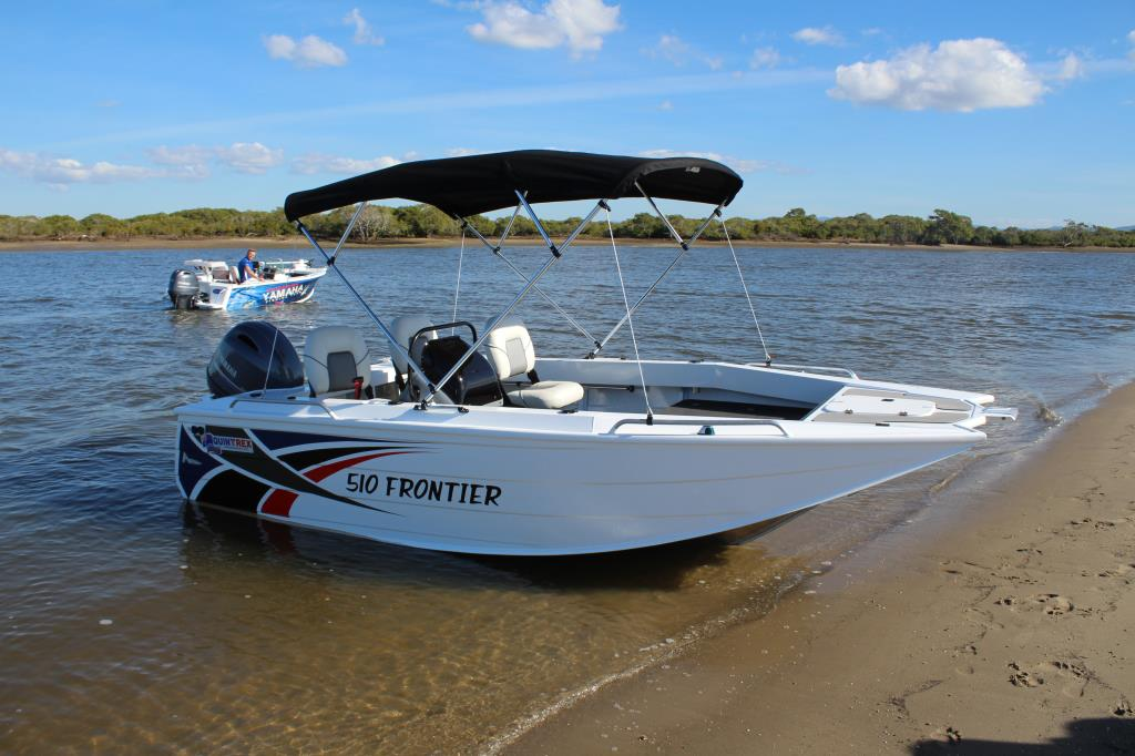 Quintrex 510 Frontier Side Console Quintrex Boats For Sale