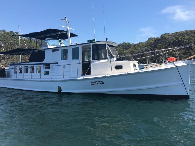 46' EX-Navy Converted Cruiser | Nautilus Mobile