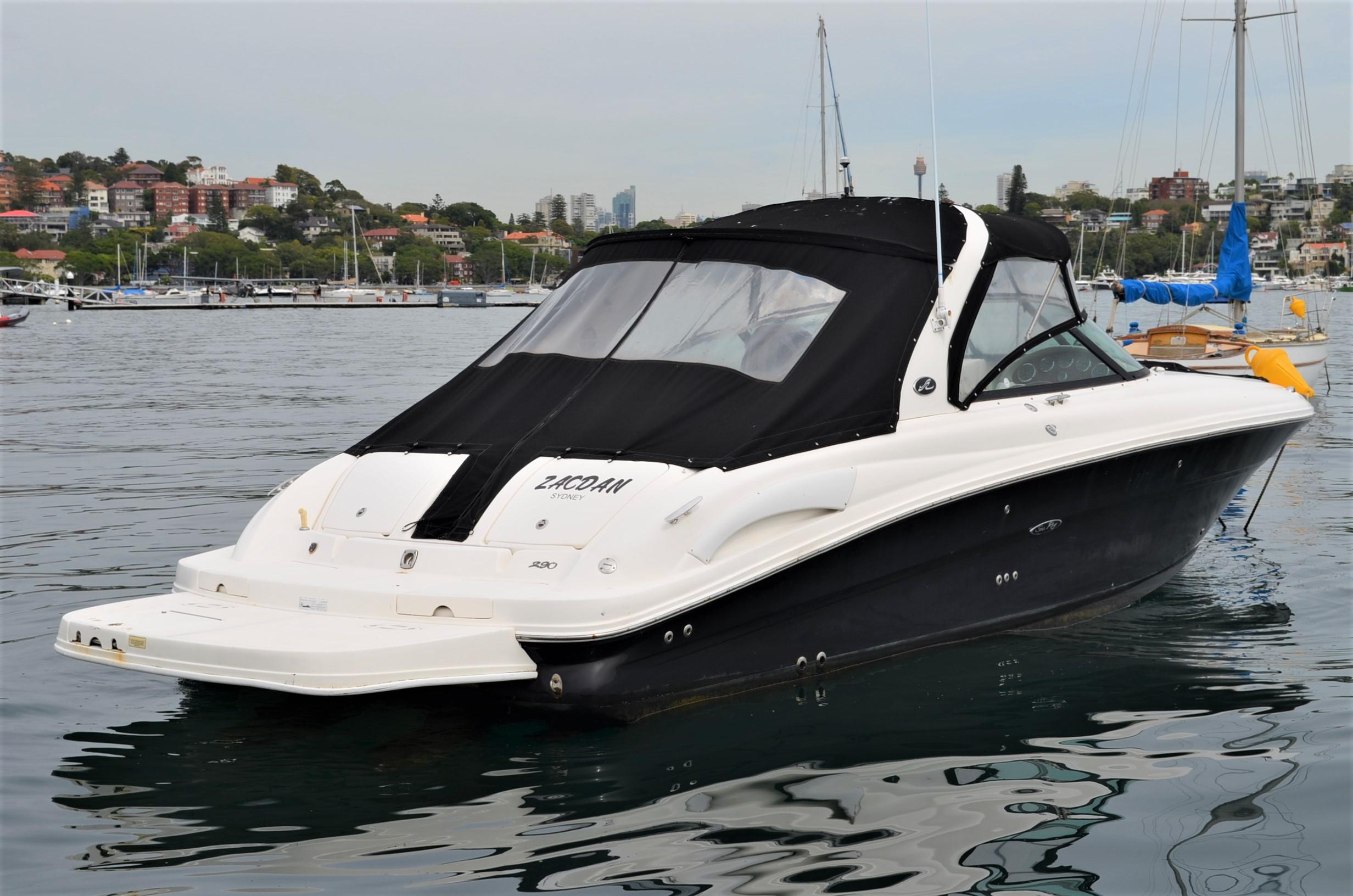 Searay 290 SLX Bowrider | Sydney Boat Brokers
