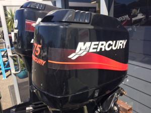 MERCURY 75HP 2-STROKE LONG SHAFT