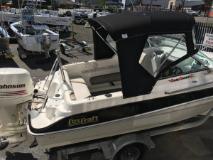 COX CRAFT 18FT CUDDY CABIN
