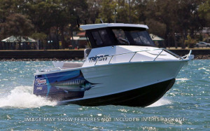 QUINTREX 610 TRIDENT Hard Top  F130 hp Pack 1