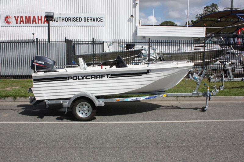 Polycraft 410 Challenger Side Console 50hp Package 2018