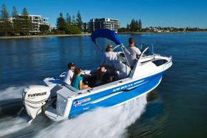 QUINTREX 570 OCEAN SPIRIT  F150 HP Pack 4