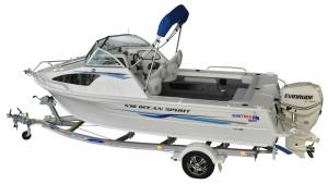 QUINTREX 530 OCEAN SPIRIT  F130 HP Pack 3