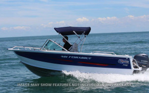 QUINTREX 481 FISHABOUT  F70 HP Package