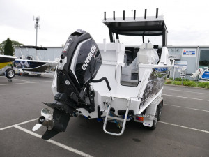 Quintrex 690 Trident Hard Top - Offshore Fishing Boat
