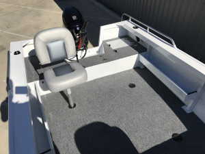 Stacer 429 Outlaw Tiller Steer 2020 Model - White