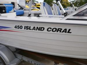 BERMUDA 450 ISLAND CORAL - RUNABOUT