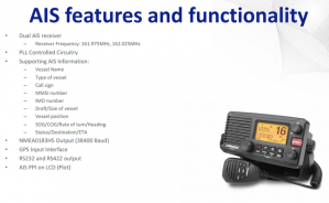 VHF MARINE RADIO,LINK-8,DSC