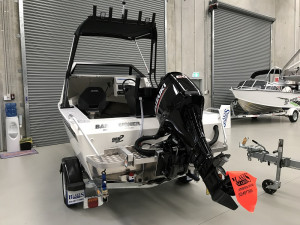 Bar Crusher 490C Plate Aluminium Cuddy Cabin