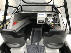 Bar Crusher 615C Plate Aluminium Cuddy Cabin