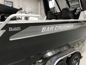 Bar Crusher 670HT Plate Aluminium Hard Top