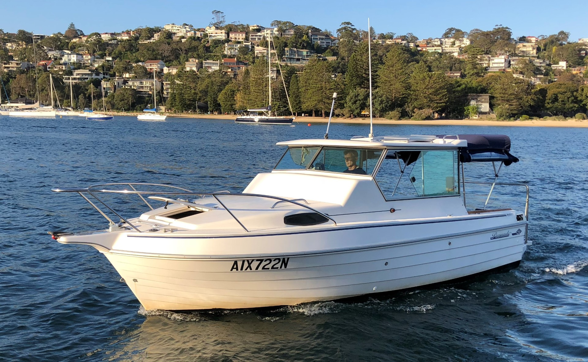 Steber 2200 Persuader Sydney Marine Brokerage