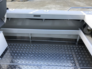 Bar Crusher 535C Plate Aluminium Cuddy Cabin