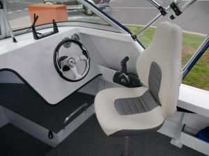 QUINTREX 570 SEA SPIRIT - CABIN BOAT