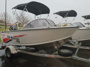 429 SeaMaster, Trailer & 50hp Mercury 4 stroke