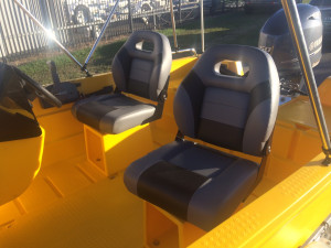 POLYCRAFT 410 CHALLENGER SIDE CONSOLE 50HP PACKAGE custom package