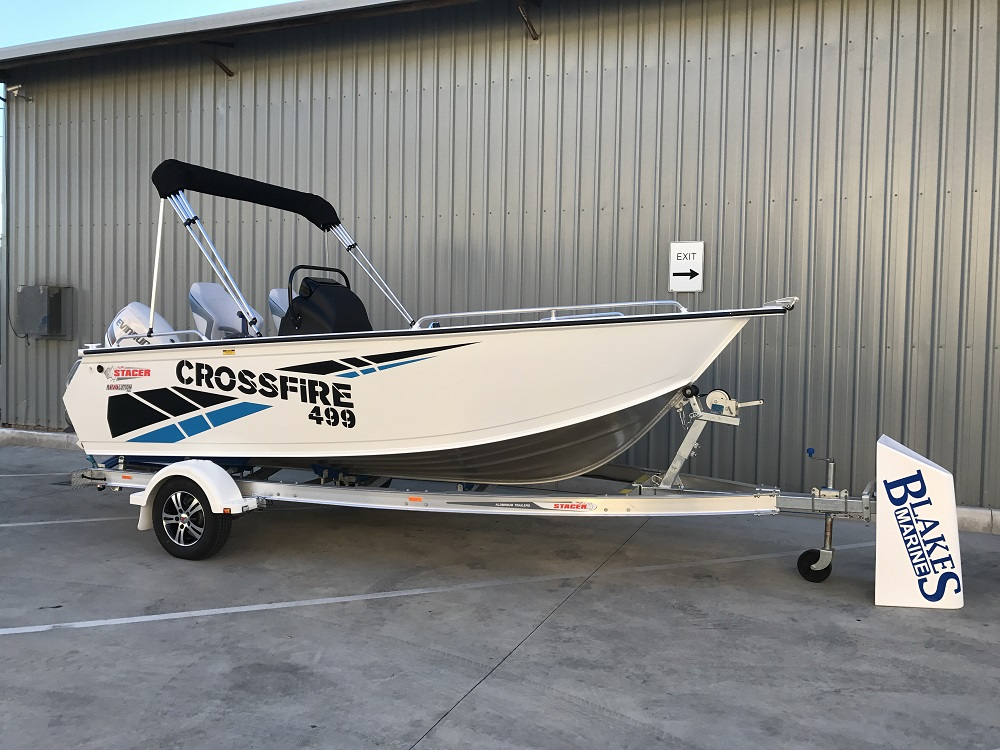 Stacer 499 Crossfire Side Console 2019 Model | Blakes Marine