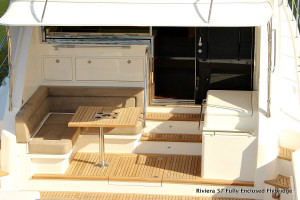 Riviera 57 Enclosed Flybridge  Volvo IPS