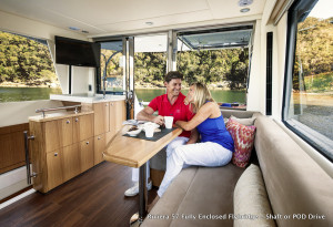 Riviera 57 Enclosed Flybridge  Volvo IPS