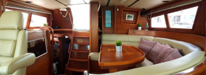 Luxury Charter on Board 56' Fully Crewed and Catered Sailing Yacht NOMAD.