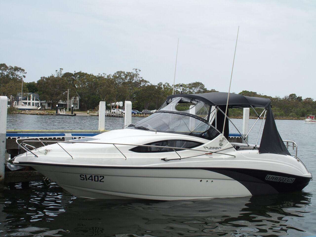 2015 Whittley Cruiser 2380 Australian Marine Network