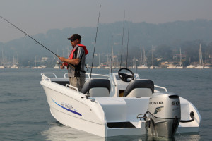 Morningstar 498 Angler Side Console