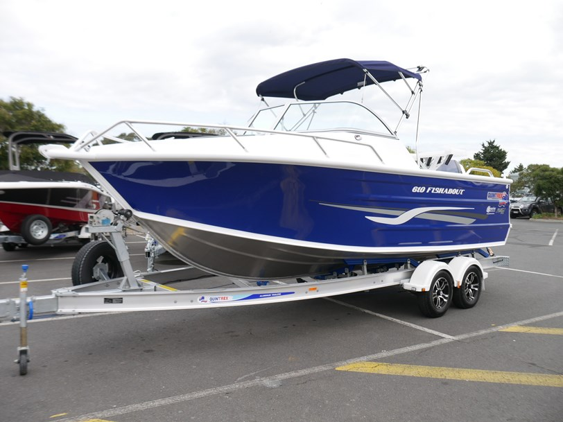 Quintrex 610 Fishabout Package with 150hp Etec