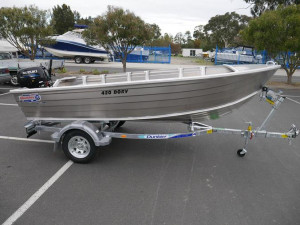 QUINTREX 420 DORY PACKAGE