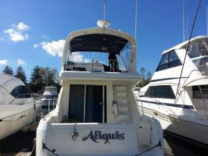 Meridian 38 Motorcruiser for sale at MGM Akuna Bay